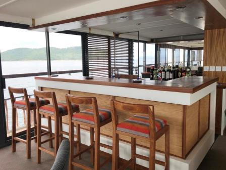 bar RV African Dream Zambeze CroisiEurope